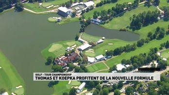 Thomas et Koepka profitent de la nouvelle formule