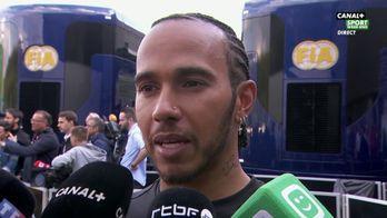 """Lewis Hamilton """"Charles mérite totalement sa victoire"""""""
