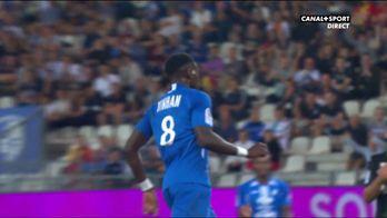 Jonathan Tinhan ouvre le score pour Grenoble !