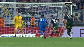 Lens revient au score grâce à un penalty de Mauricio