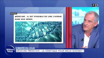 L'invité du jour : Pr.Pascal Pujol - Médecine prédictive : la génétique pour mieux soigner ?