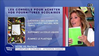 Fournitures scolaires : attention danger !