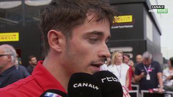 """Charles Leclerc : """"Jamais une course avec autant de pression"""""""