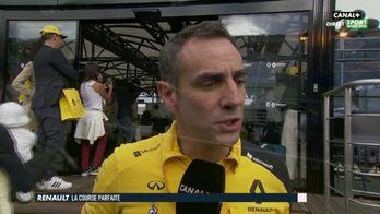 """Cyril Abiteboul """"ému"""" après le bon week-end de Renault"""