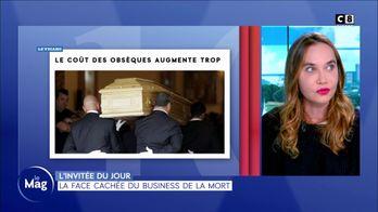 Invitée du jour : Christelle Pancrazi - La face cachée du business de la mort