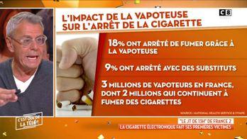 """Le JT de 13h de France 2 : """"La cigarette électronique fait ses premières victimes"""""""