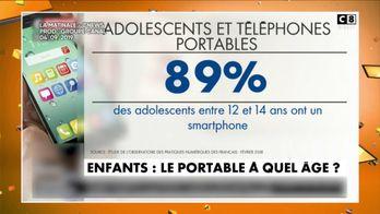 CNEWS : A quel âge faut-il donner un téléphone à son enfant ?
