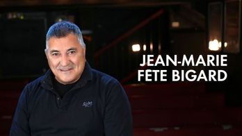 Jean-Marie fête Bigard