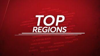 Top régions