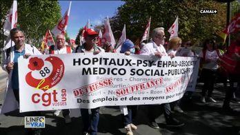 Les services d'urgences français en grève !