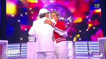 Le père de Bigflo & Oli, Fabian Ordonez danse avec Isabelle Morini-Bosc
