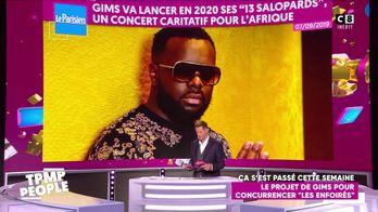 Le projet de Gims en Afrique pour concurrencer le spectacle des Enfoirés
