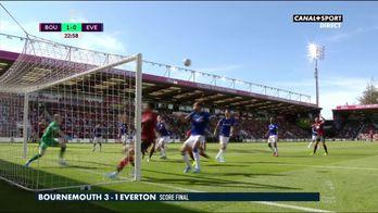 Le résumé de Bournemouth / Everton