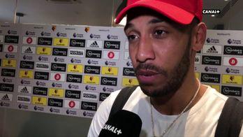 La réaction de Pierre-Emerick Aubameyang après Watford / Arsenal