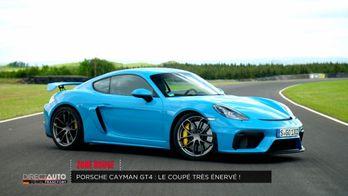 Porsche Cayman GT4 : Le coupé très