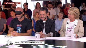 Clique avec Cédric Grolet, Ariane Massenet, Franck Gastambide et Paul Taylor