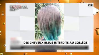 Une collégienne renvoyée à cause de sa couleur de cheveux