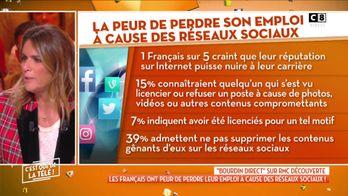 1 Français sur 5 a peur de perdre son emploi à cause des réseaux sociaux