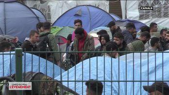 Démantèlements du camp de migrant de Grande-Synthe