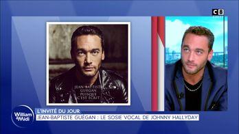 Jean-Baptiste Guégan : le sosie vocal de Johnny Hallyday