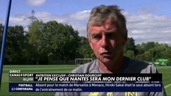 "Christian Gourcuff : ""Je pense que Nantes sera mon dernier club"""