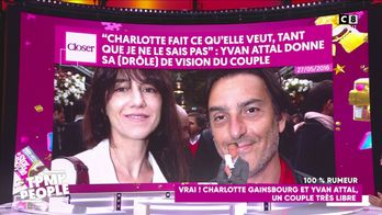 Yvan Attal et Charlotte Gainsbourg en couple libre