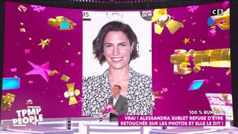 Alessandra Sublet refuse d'être retouchée sur les photos