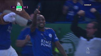 Ricardo Pereira égalise pour Leicester