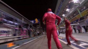 Charles Leclerc avant la course