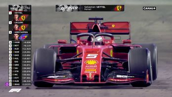 Victoire de Vettel
