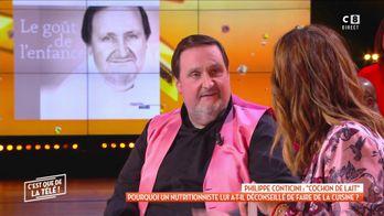 """Philippe Conticini : """"Cochon de lait"""" lorsqu'un nutritionniste lui déconseille d'être cuisinier"""