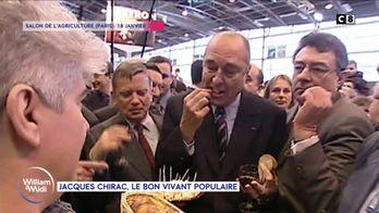 Jacques Chirac, le bon vivant populaire