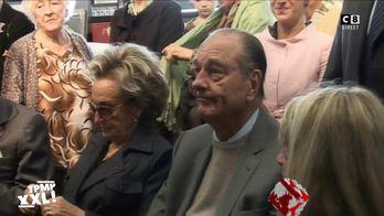 Hommage à Jacques Chirac : Quand Bernadette Chirac remonte les bretelles de Jacques Chirac