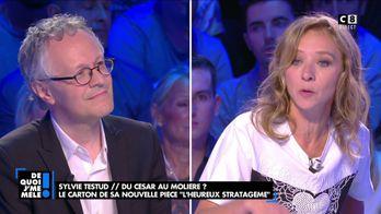 """Sylvie Testud : """"Je devais trouver la motivation de remonter sur les planches"""""""