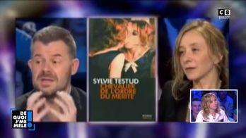 """Sylvie Testud revient sur son clash à """"On n'est pas couché"""" avec Eric Naulleau"""