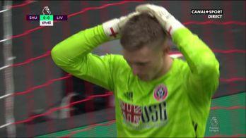 L'énorme boulette de Dean Henderson face à Liverpool !