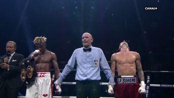 Elie Konki conserve son titre de champion de France des poids coqs