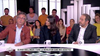 Clique avec Géraldine Nakache, Patrick Timsit et Olivier Roellinger