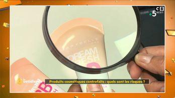 Faux produits cosmétiques : attention danger !