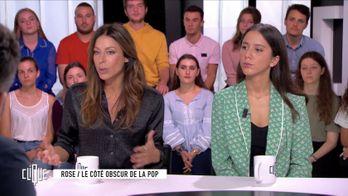 Clique avec Geoffroy de Lagasnerie, Rose, Anaide Rozam et Mohamed Lamouri