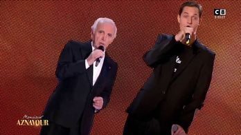 Grand Corps Malade en duo avec Charles Aznavour