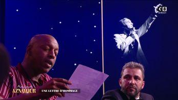 La belle lettre hommage d'Oxmo Puccino adressée à Charles Aznavour