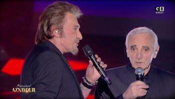 Les plus beaux duos de Johnny Hallyday et Charles Aznavour