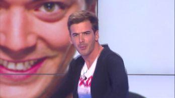 A l'occasion de l'anniversaire de la chaîne D8, Marc Antoine Le Bret faisait le show