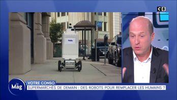 Supermarchés de demain : des robots pour remplacer les humains ?