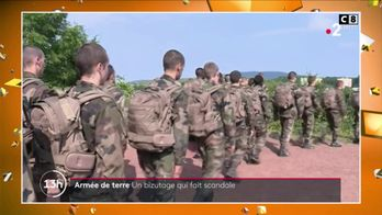Bizutage : l'armée de terre embarrassée par une vidéo
