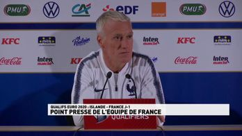 """Deschamps : """"Mbappé n'était pas prêt"""""""