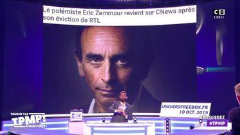 Le polémiste Eric Zemmour revient sur Cnews malgré ses condamnations