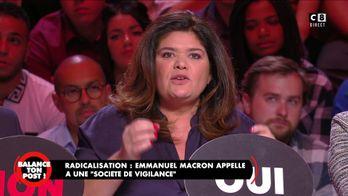 """Emmanuel Macron appelle à une """"société de vigilance"""""""