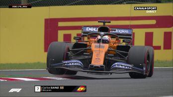 Carlos Sainz encaisse la piste